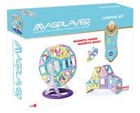 Конструктор Magplayer магнитный набор 52 эл. (MPH2-52)