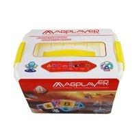 Конструктор Magplayer магнитный набор бокс 81 эл. (MPT2-81)