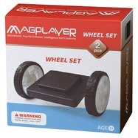 Конструктор Magplayer Платформа на колесах 2 эл. (MPB-2)