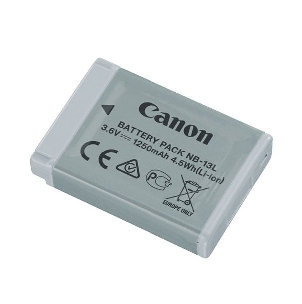Аккумулятор Canon NB-13L для G1X, G7X, G9X (9839B001) фото