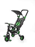 Трехколесный велосипед Galileo STROLLCYCLE BLACK зеленый