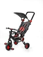 Трехколесный велосипед Galileo STROLLCYCLE BLACK красный