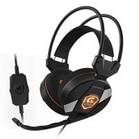 Игровая гарнитура GIGABYTE XH300 LED (XH300/USBHEAD/CIR/MIC/B)