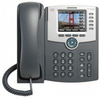 Проводной IP-телефон Cisco SB 5-Line IP Phone/Color, PoE, 802.11g, Bluetooth REMANUFACTURED