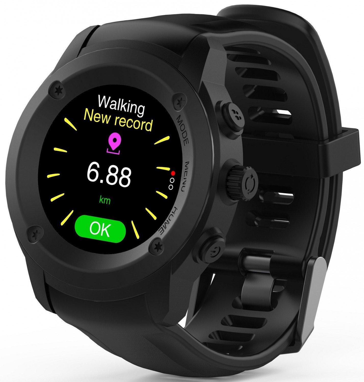 ≡ Cмарт-часы NOMI W30 Black – купить в Киеве  89e5294174443
