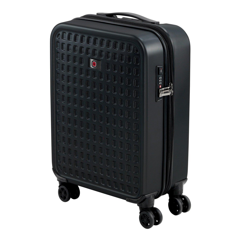 7f0a3841867c ≡ Чемодан пластиковый Wenger Matrix 4 колеса средний Black – купить ...
