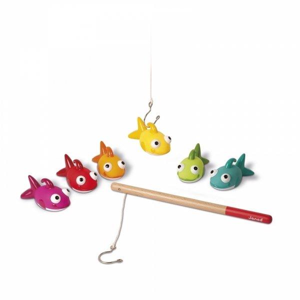 Купить Игрушки для купания Janod Рыбалка. Рыбки (J03247)