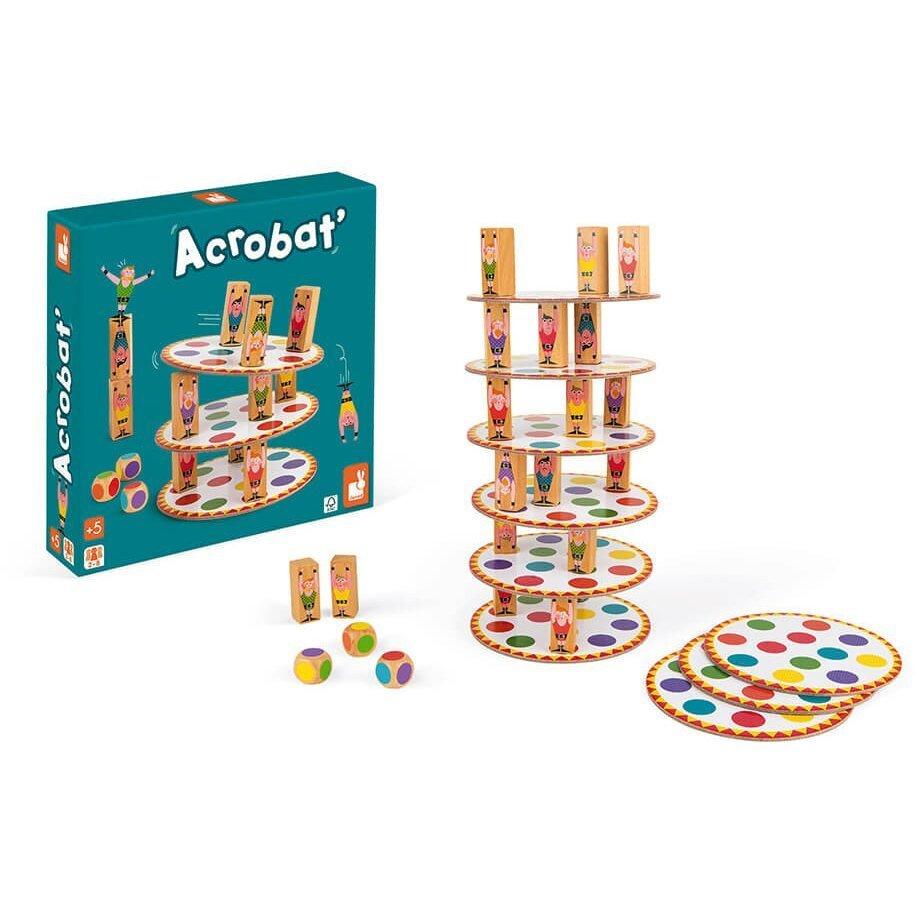 Настольная игра Janod Акробат (J02757) фото