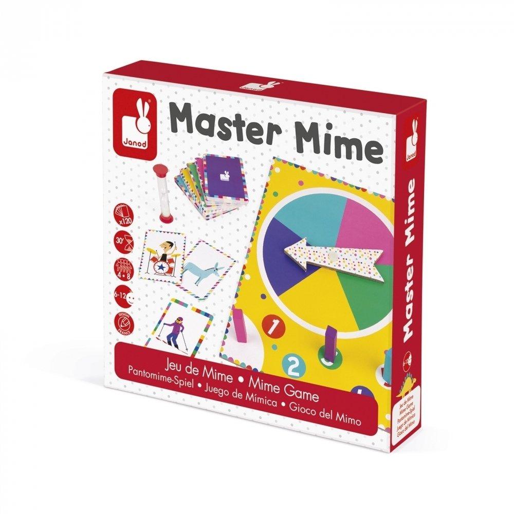 Настольная игра Janod Мастер мимики (J02751) фото