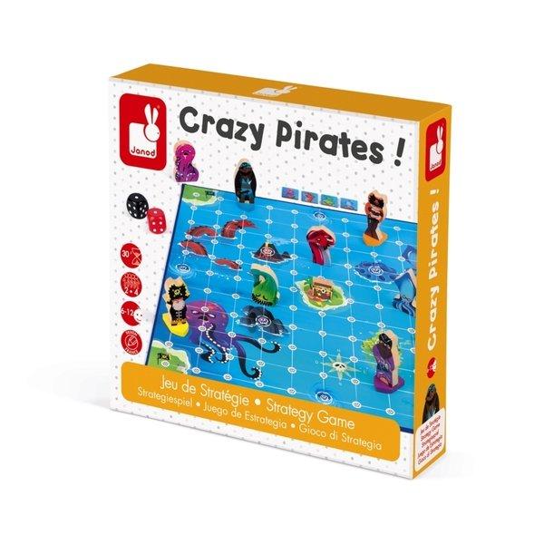 Купить Настольная игра Janod Сумасшедшие пираты (J02740)