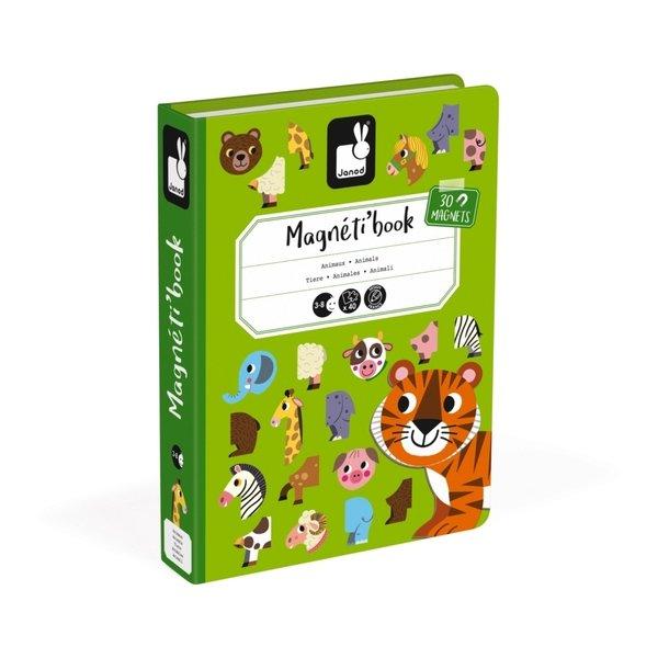 Купить Магнитная книга Janod Животные (J02723)