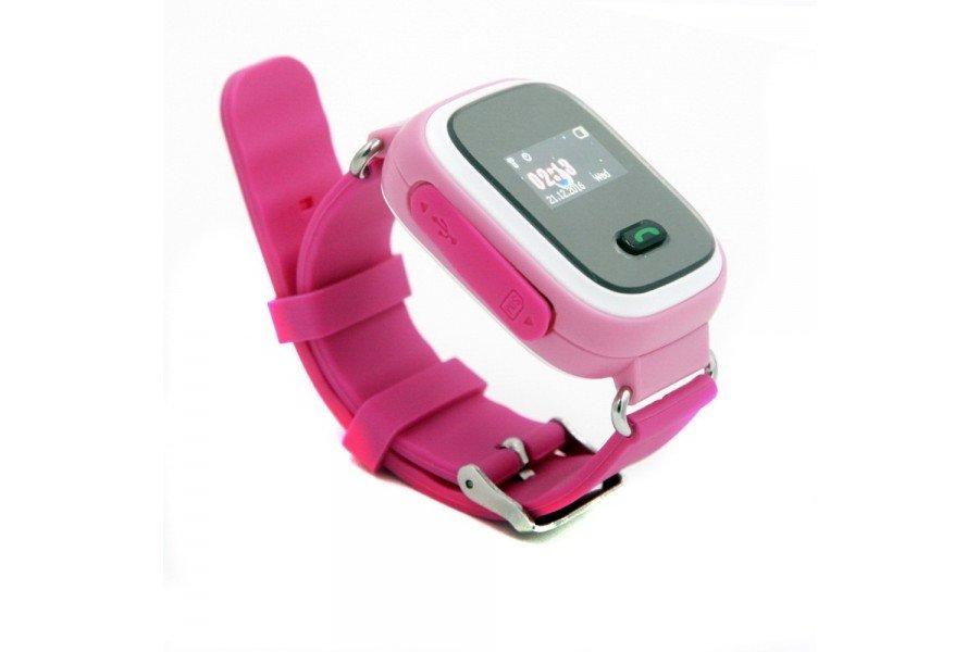 Детские часы-телефон с GPS трекером GOGPS ME K11 розовый (K11PK) фото 1 95dae90965ea6