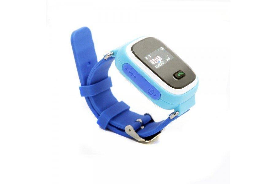 Детские часы-телефон с GPS трекером GOGPS ME K11 синий (K11BL) фото 1 db9950d2bc53a