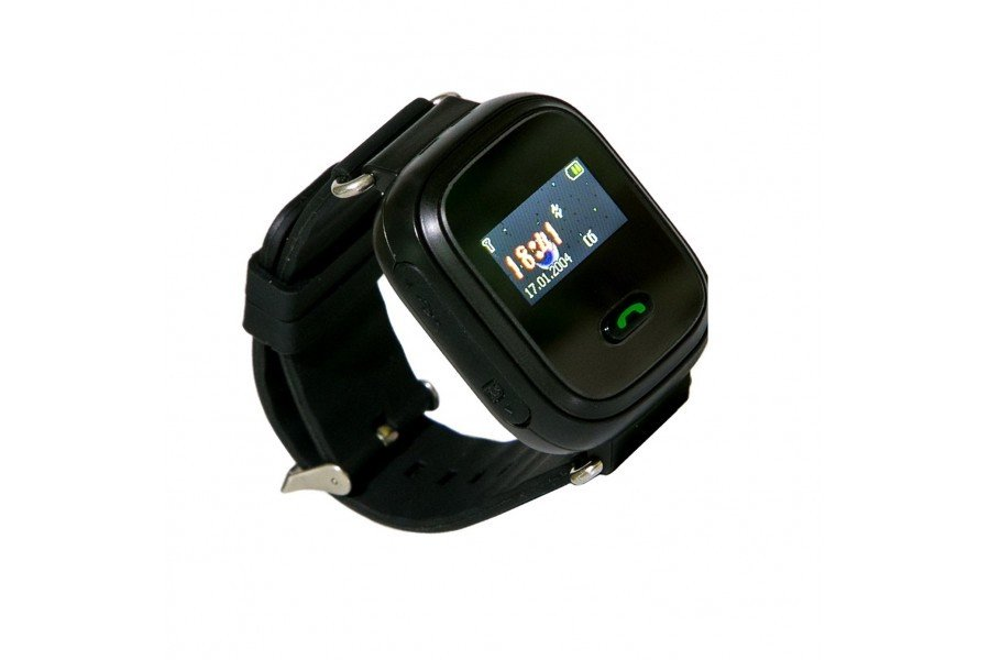 Детские часы-телефон с GPS трекером GOGPS ME K11 черный (K11BK) фото