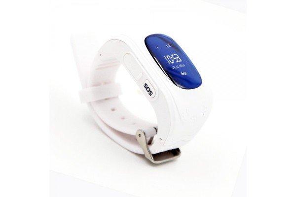 Купить Детские часы-телефон с GPS трекером GOGPS ME K50 белый (K50WH)
