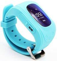 Дитячий годинник-телефон з GPS трекером GOGPS ME K50 бірюзовий (K50TR)
