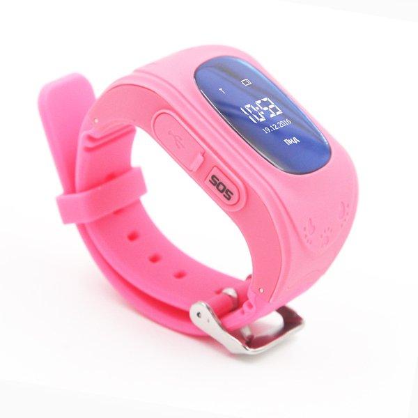 Купить Детские часы-телефон с GPS трекером GOGPS ME K50 розовый (K50PK)
