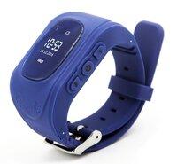 Детские часы-телефон с GPS трекером GOGPS ME K50 темно-синий (K50DBL)