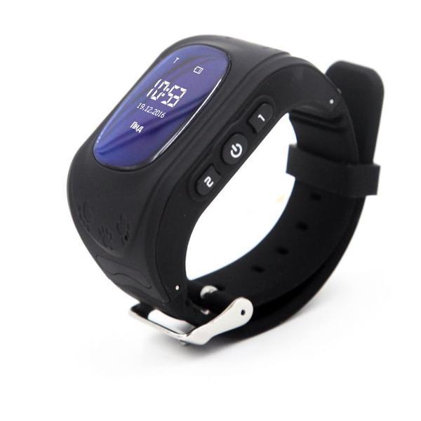 Купить Детские часы-телефон с GPS трекером GOGPS ME K50 черный (K50BK)