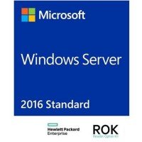 ПО HP Windows Server 2016 Standard ROK ru SW (P00487-251)