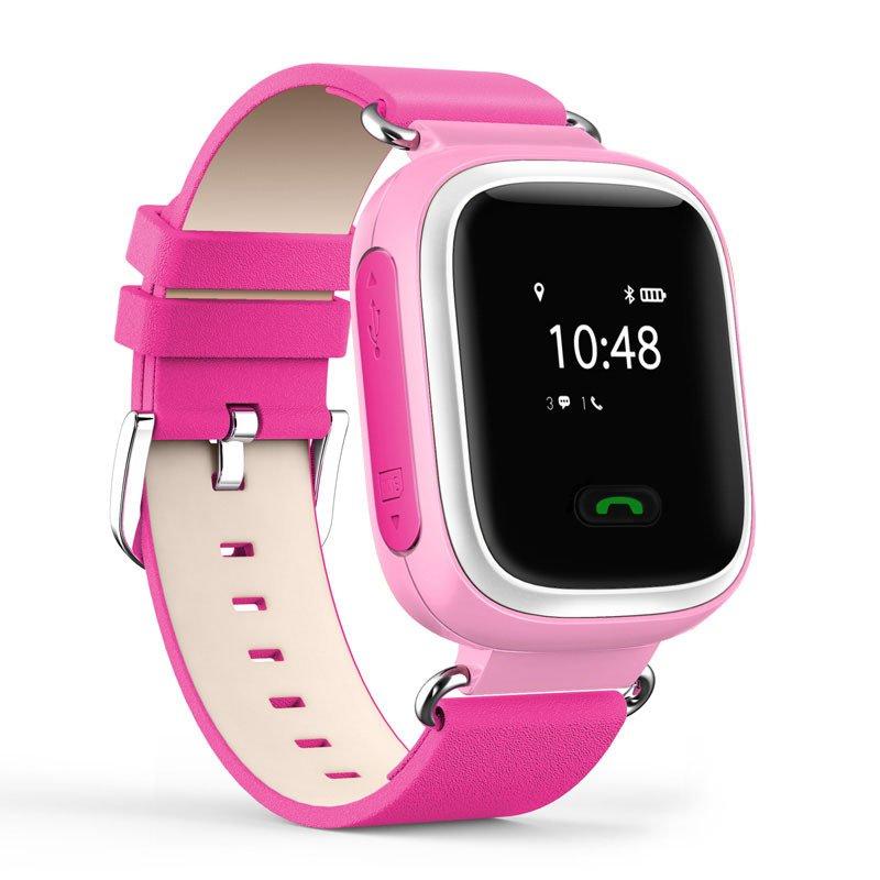 Детские часы-телефон с GPS трекером GOGPS ME K10 розовые (K10PK) фото 1 14a2508d70302