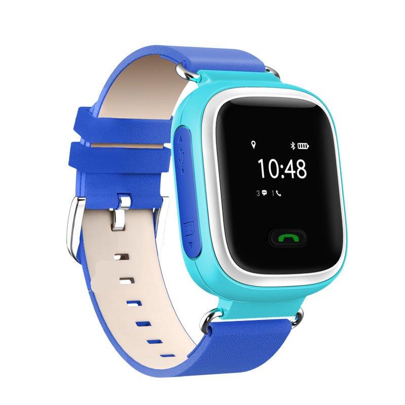 Детские часы-телефон с GPS трекером GOGPS ME K10 синие (K10BL) фото 1 95a5744e082