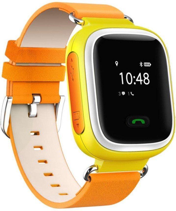Детские часы-телефон с GPS трекером GOGPS ME K10 желтые (K10YL) фото 1 216d3bfd65eda