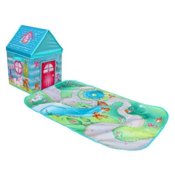 Игровой дом-коробка Pop-it-Up Зачарованный Лес с игровым ковриком (F2SB16809)  - купить со скидкой