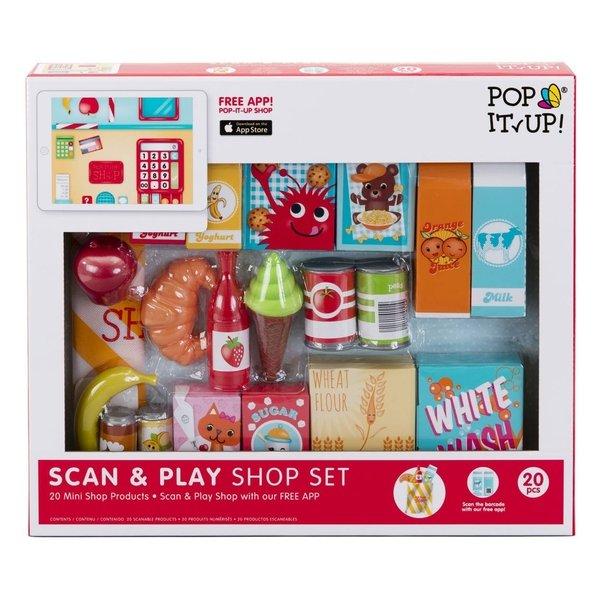 Набор аксессуаров Pop-it-Up сканируй и играй (F2PSA15201)  - купить со скидкой