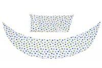Аксессуар для подушки Nuvita DreamWizard (наволочка/чехол) Белый с точками NV7101Dots (NV7101DOTS)