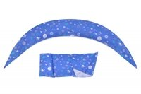 Подушка для беременных Nuvita 10 в 1 DreamWizard Синяя NV7100Blue (NV7100BLUE)