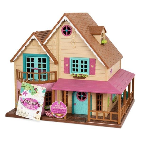 Купить Игровой набор Lil Woodzeez Большой коттеджный дом (6192Z), LI L WOODZEEZ