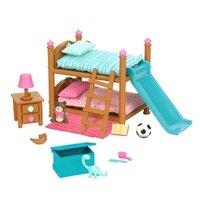 Игровой набор Lil Woodzeez Двухъярусная кровать для детской комнаты (6169Z)