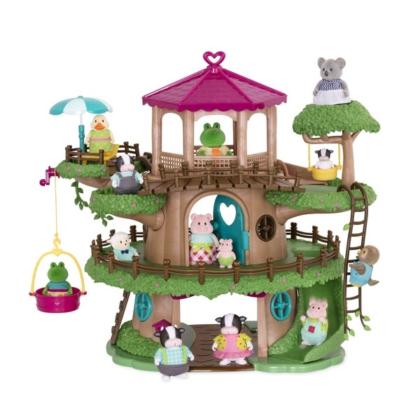 Купить Игровой набор Lil Woodzeez Дом на дереве (6147Z), LI L WOODZEEZ