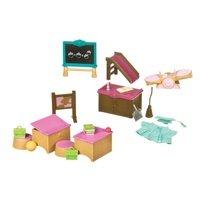 Игровой набор Lil Woodzeez Класс и игровая площадка (6124Z)