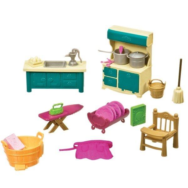 Игровой набор Lil Woodzeez Кухонька и подсобная (6125Z) фото