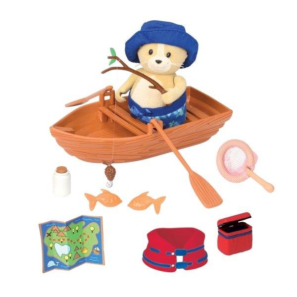 Купить Игровой набор Lil Woodzeez Набор для лодки (6167Z), LI L WOODZEEZ