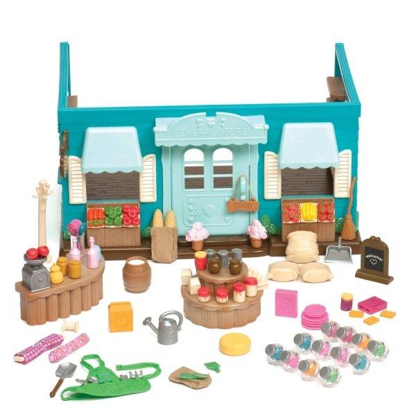 Купить Игровой набор Lil Woodzeez Продуктовый Магазин (6089Z), LI L WOODZEEZ