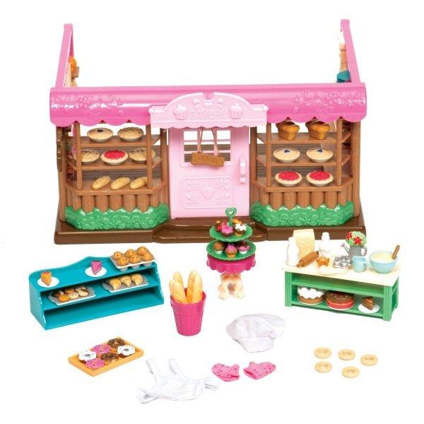 Купить Игровой набор Lil Woodzeez Пекарня (6088Z), LI L WOODZEEZ