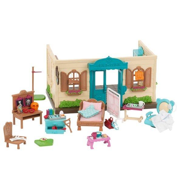 Купить Игровой набор Lil Woodzeez Поликлиника (6148Z), LI L WOODZEEZ