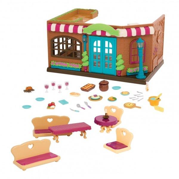 Купить Игровой набор Lil Woodzeez Ресторан (6160Z), LI L WOODZEEZ