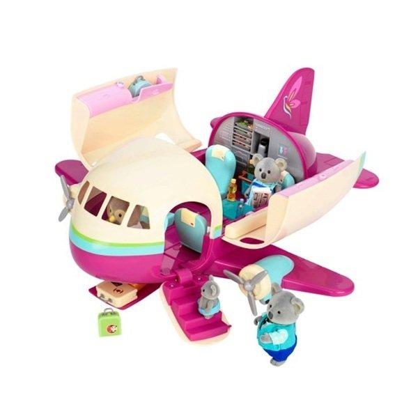 Игровой набор Lil Woodzeez Самолет (61533Z), LI L WOODZEEZ  - купить со скидкой