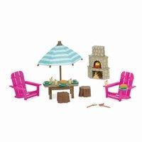 Игровой набор Lil Woodzeez Терраса и камин (6170Z)