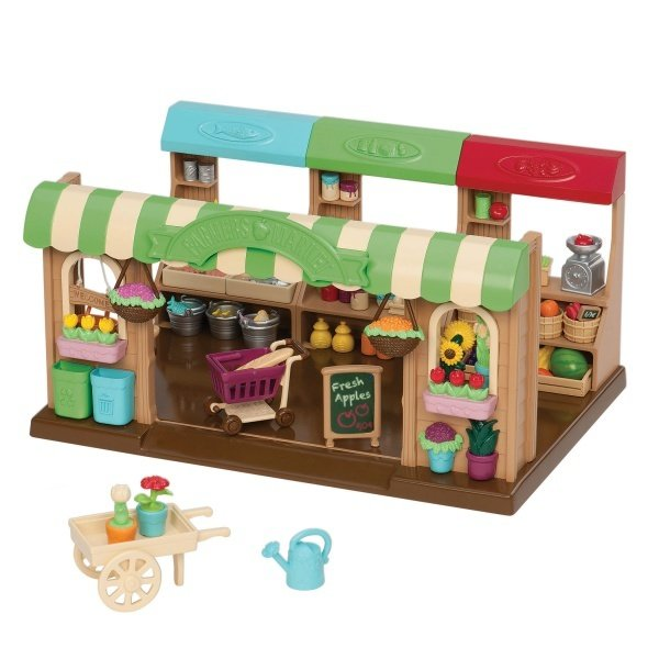 Купить Игровой набор Lil Woodzeez Фермерский рынок (6126Z), LI L WOODZEEZ