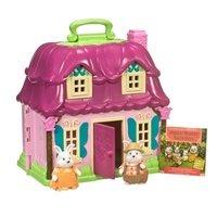 Игровой набор Lil Woodzeez Цветочный дом и Семья Кроликов (6103M)