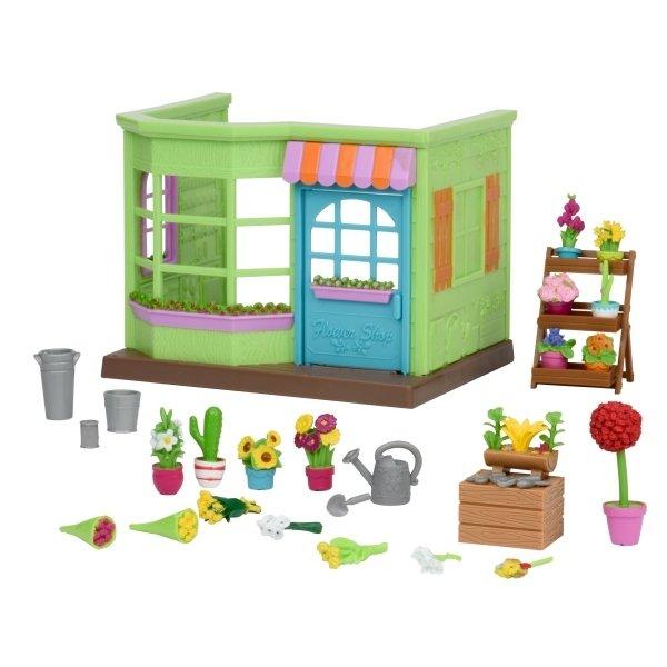 Купить Игровой набор Lil Woodzeez Цветочный магазин, маленький (6164Z), LI L WOODZEEZ