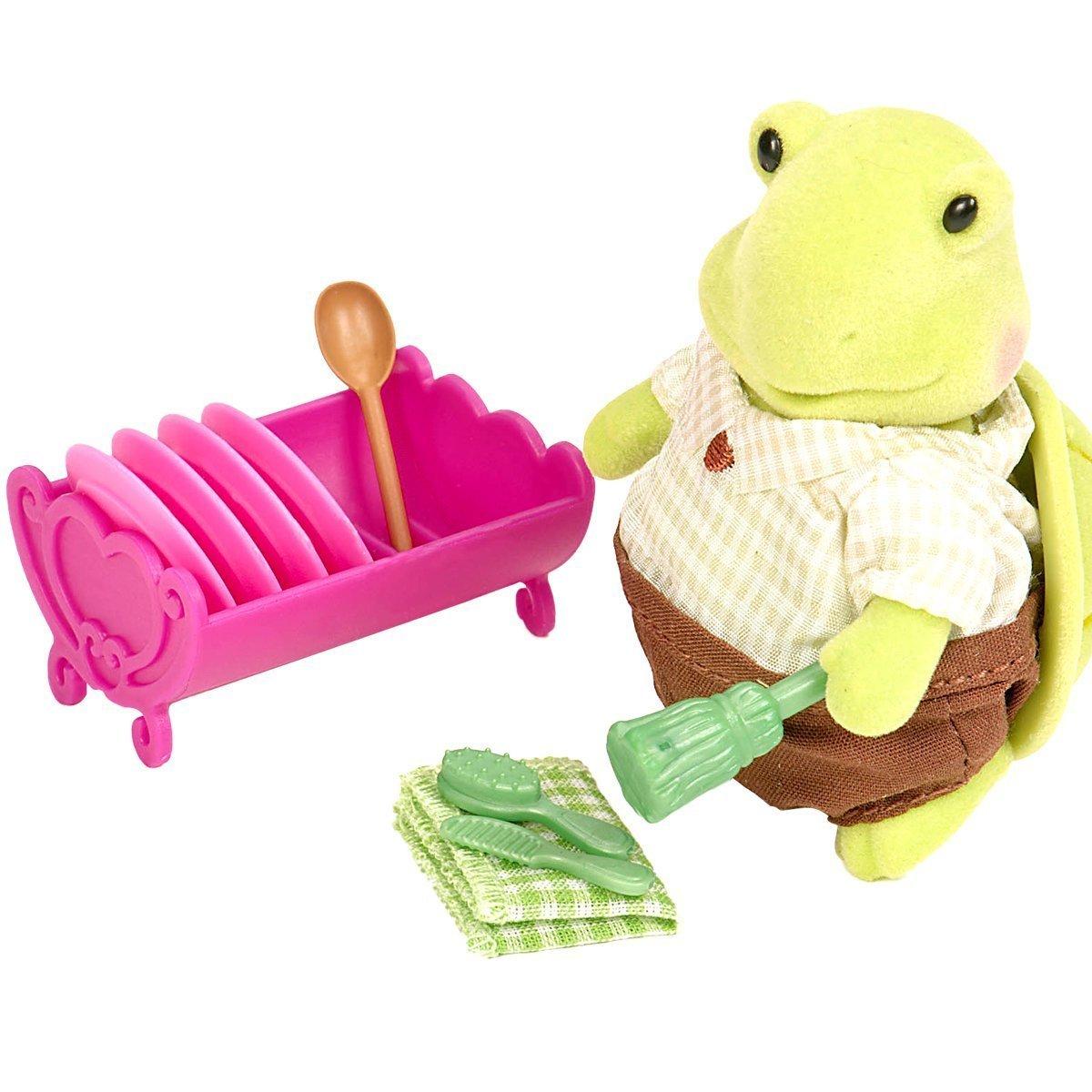 Игровой набор Lil Woodzeez Черепаха-хозяйка (6143M) фото