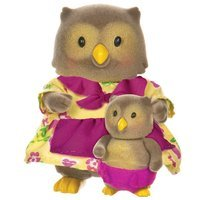 Набор фигурок Lil Woodzeez Совы: мама и малыш (6136M)