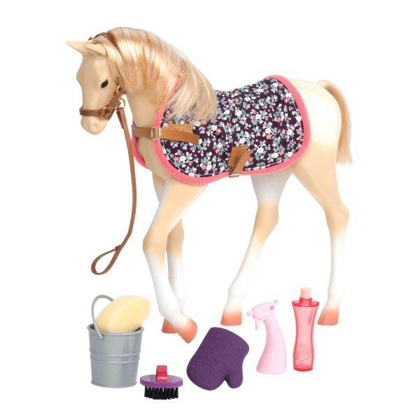 Купить Игровая фигура Our Generation Лошадь Скарлет с аксессуарами 26 см (BD38012Z)