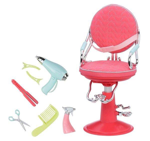 Купить Набор аксессуаров Our Generation Кресло для салона розовое (BD37336Z)